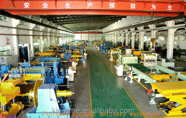 Sheet Metal Rotary Shearing Line From China