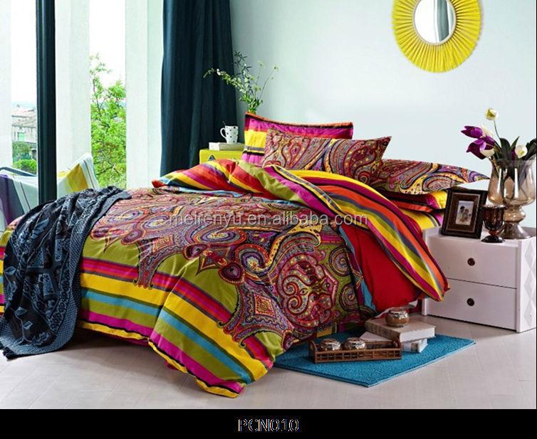 conception de style indien draps set tissu de coton ensemble de literie literie id de produit. Black Bedroom Furniture Sets. Home Design Ideas