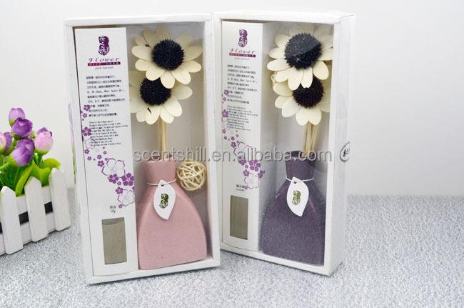 Natural Ceramic Bottle Packed Air Freshener Essenza Flower ...