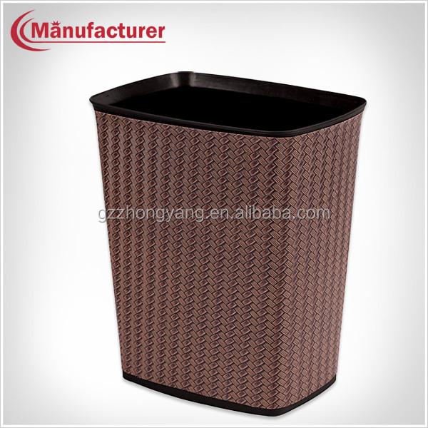 Elegant Design Taper Shape Home Trash Can/waste Paper Basket/fire ...