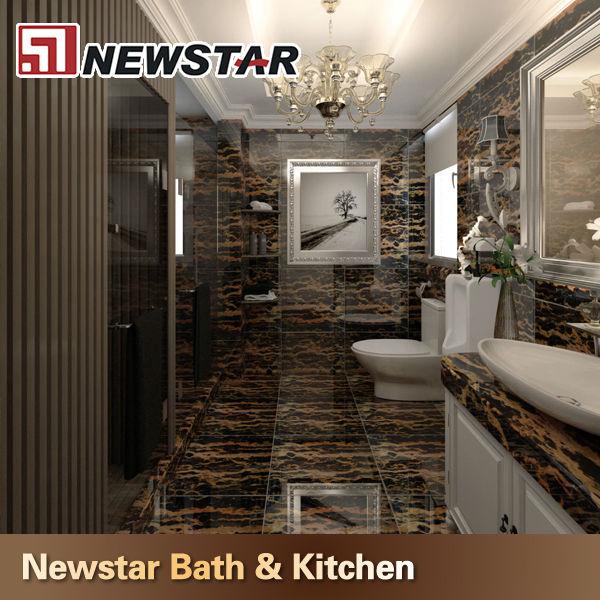 Hotel Bathroom Tiles Black And Gold Flower Marble Buy Black And Gold Flower Marbleblackgold Polished Marble Flooring Tileblack Gold Marble