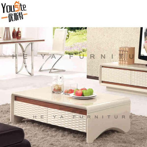 cream color high glossy turkish furniture coffee table with glass top design buy turkish. Black Bedroom Furniture Sets. Home Design Ideas