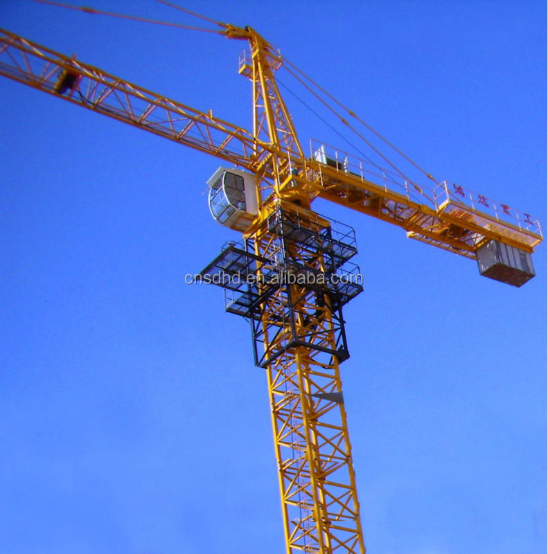 QTZ80 8t brand new tower crane