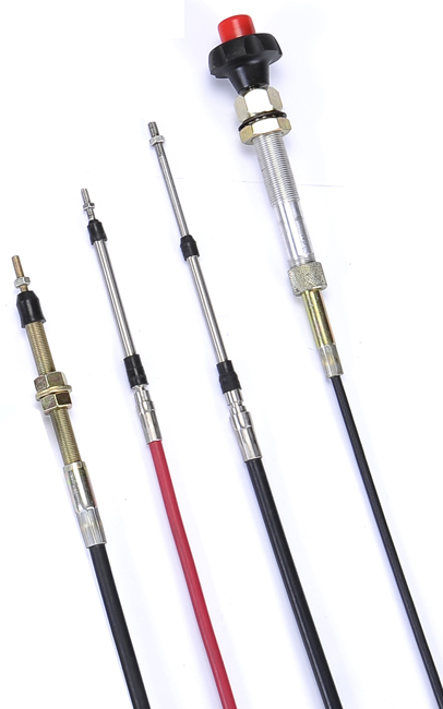 Stock Push Pull Cable Assemblies : Wholewin mechanical control cable buy push pull