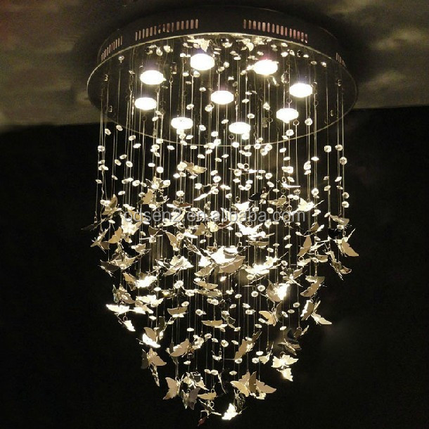 Butterfly ceiling lighting pendant lamp