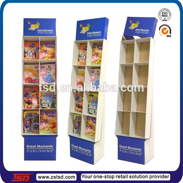 Tsd C456 Custom Advertising Cardboard Book Display Box