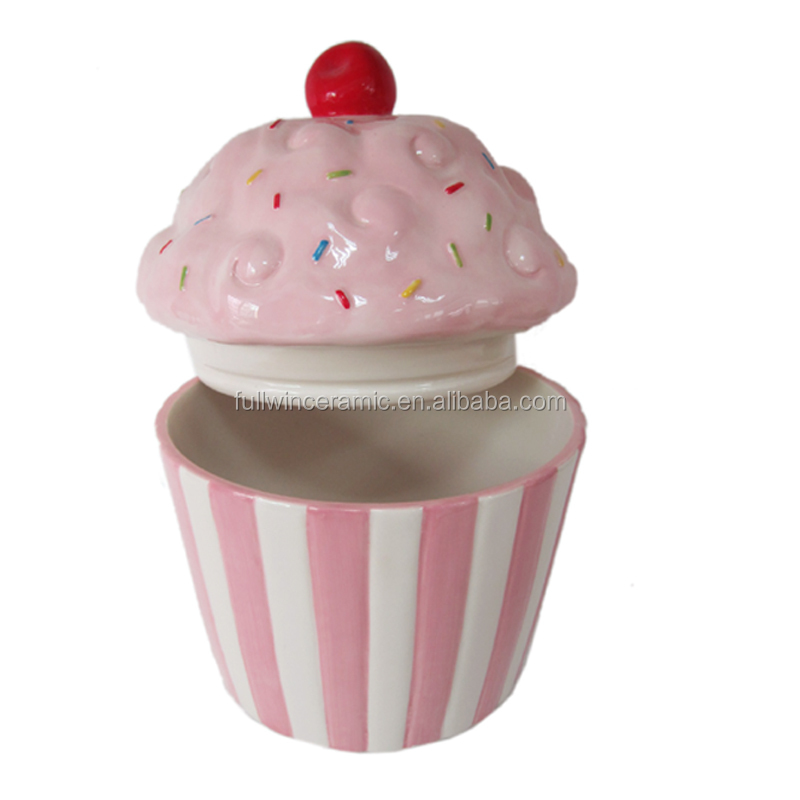 Cupcake In Ceramica.Ceramic Cupcake Cookie Jar With Full Painted Buy Cupcake Cookie Jar Large Cookie Jars Colorful Ceramic Cookie Jar Product On Alibaba Com