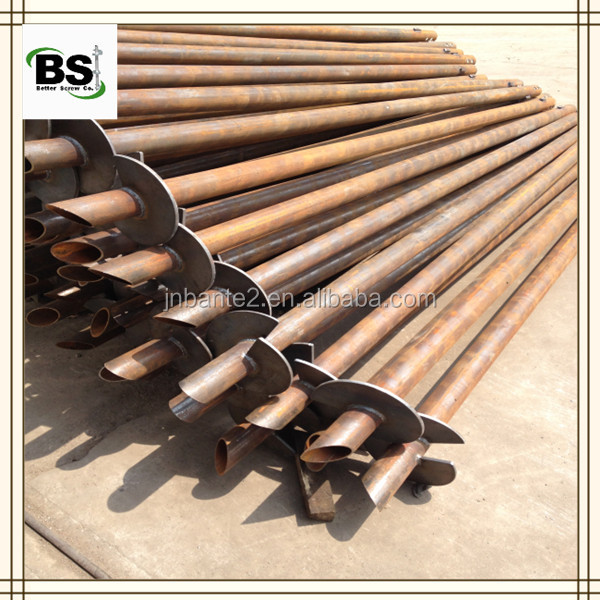 Light Pole Anchor Bolts: Light Pole Foundations Helical Anchors
