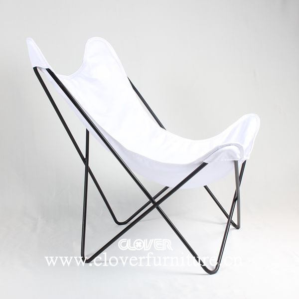 Nice Hardoy Butterfly Chair Stainless Steel With Leather