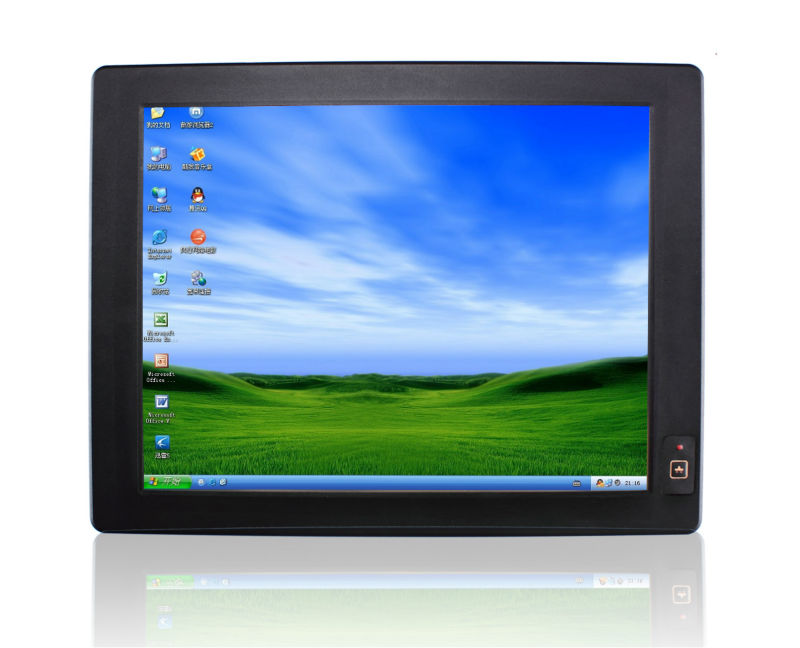 15inch embedded all in one PC with touch screen up to 4xRS485 2xRS232