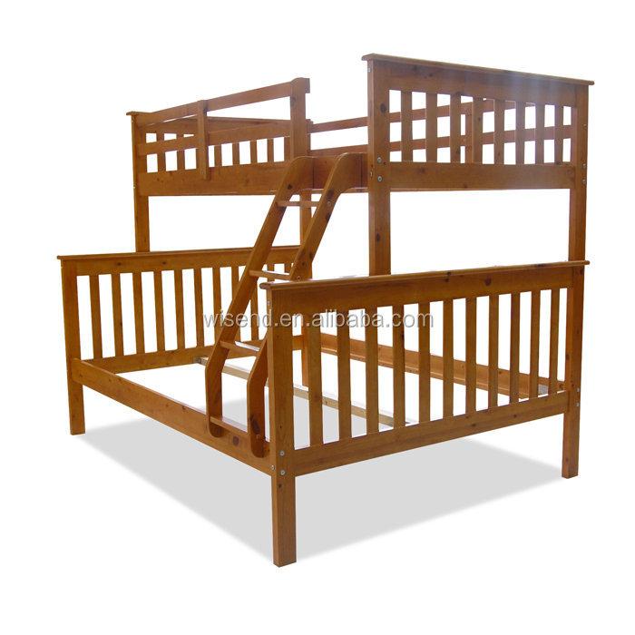 Wjz B71 Solid Pine Wood Queen Size Bunk Beds Buy