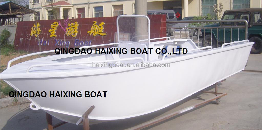 18ft Aluminum Boats For Fishing;barge Fishing Boat