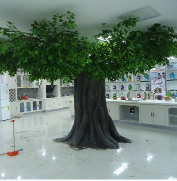 Guangzhou Factory Make Huge Outdoor Artificial Ficus Tree ...