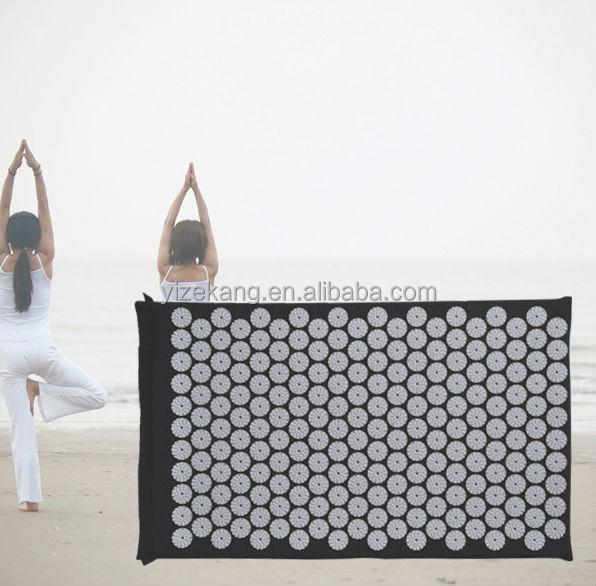 Acupuncture Needle Mat Set,Yoga Mat Set With Travel Neck Pillow ...
