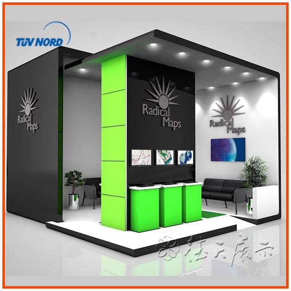 Fabric Exhibition Stand Design : Design aluminum exhibit booth display trade show