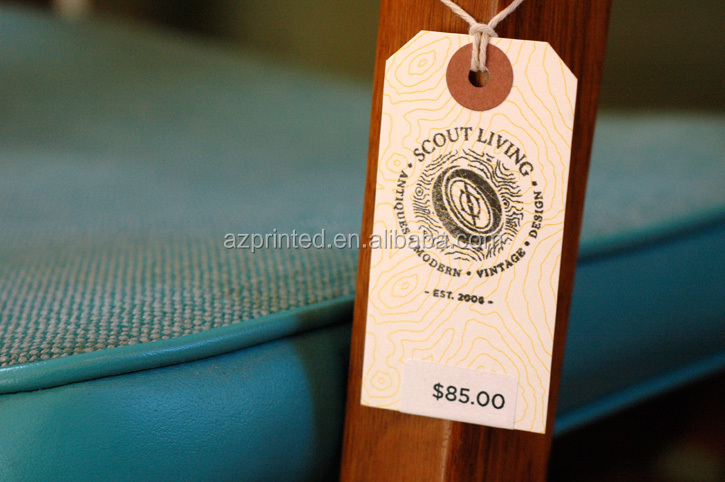 Wonderful Popular High Grade Vintage Style Paper Furniture Tags,customized Furniture  Price Tags From Direct Manufacture