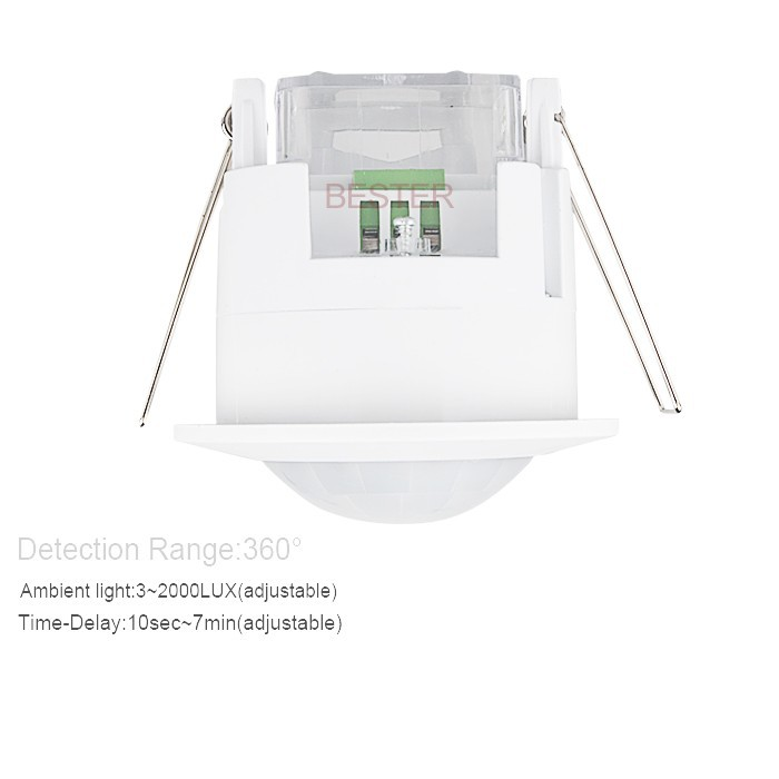 Ceiling security light motion sensor110v 360 degree pir presence ceiling security light motion sensor 110v 360 degree pir presence sensor for ceiling light mozeypictures Gallery