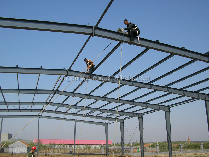 metal roofing steel structural warehouse professional manufacturer