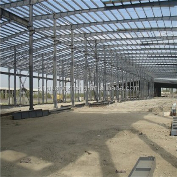 Construction light metal industrial steel frame structure building