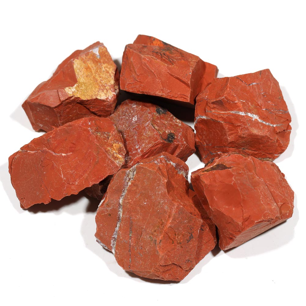 Red Natural Stones : Red jasper rough gemstone stone as raw gift buy
