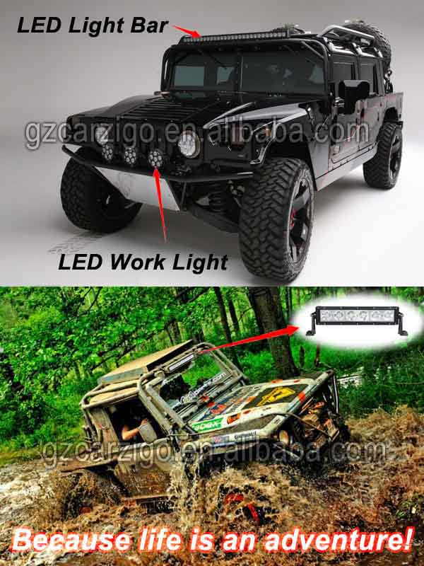 8 inches 4X4 Off road vehicle mini Off-Road Epistar 36W led light ...