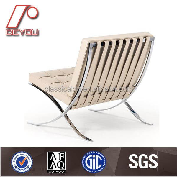 Sf 505 vintage blanco italia cuero barcelona sof silla for Silla barcelona imitacion