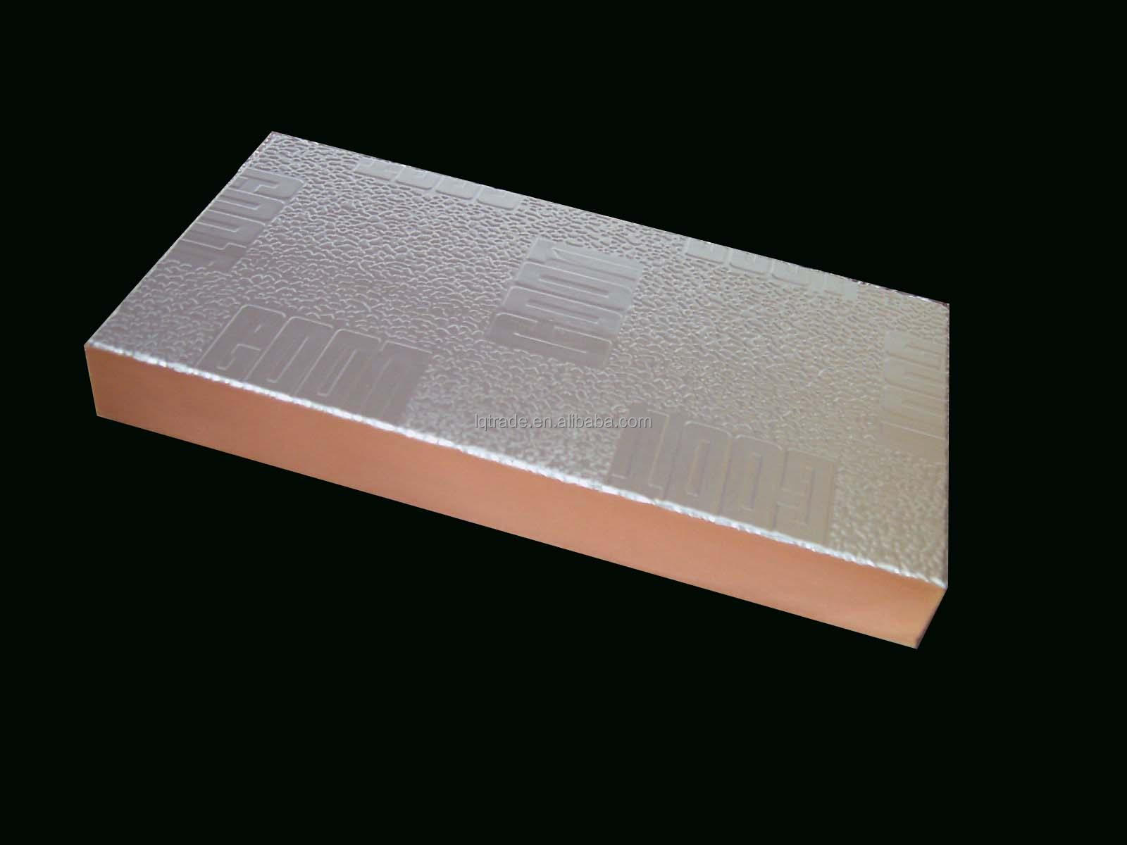 A class fireproofing rigid phenolic foam insulation panel for Fire resistant insulation
