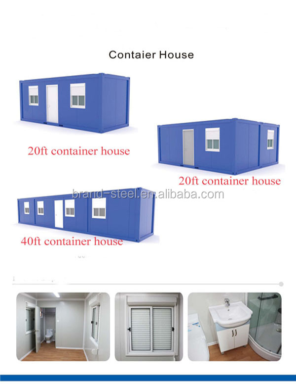 20ft 40ft Expandable Cabin Flat Pack Container House