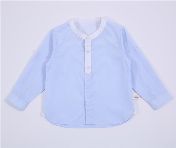 wholesale 6m Baby 2015 spring kids Shirt baby boy long sleeve top 100% cotton baby clothes
