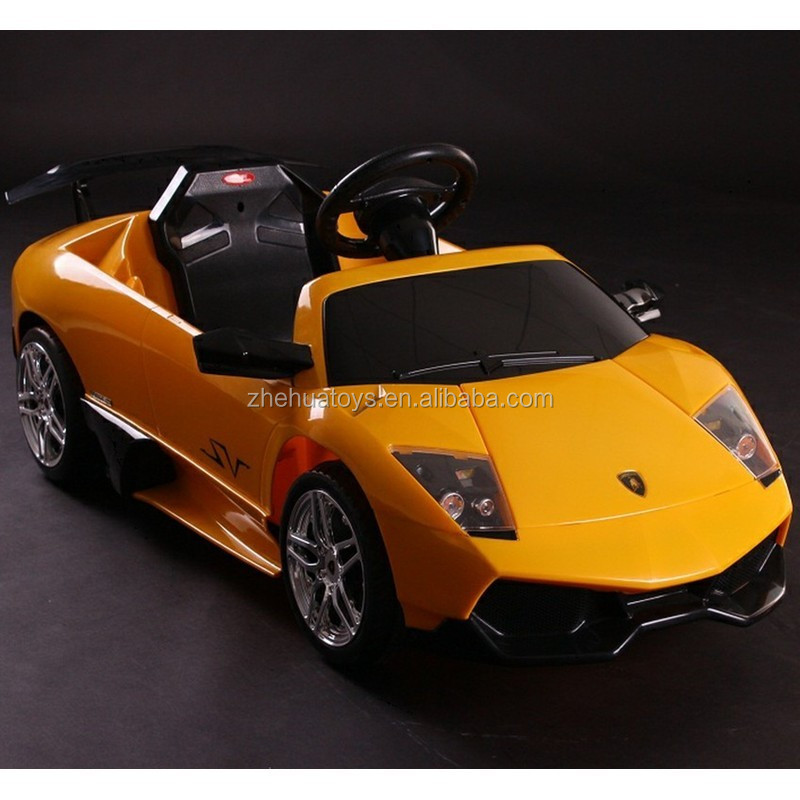 6volt licensed lamborghini electric toy cars for kids to drive custom kids toy ride on cars