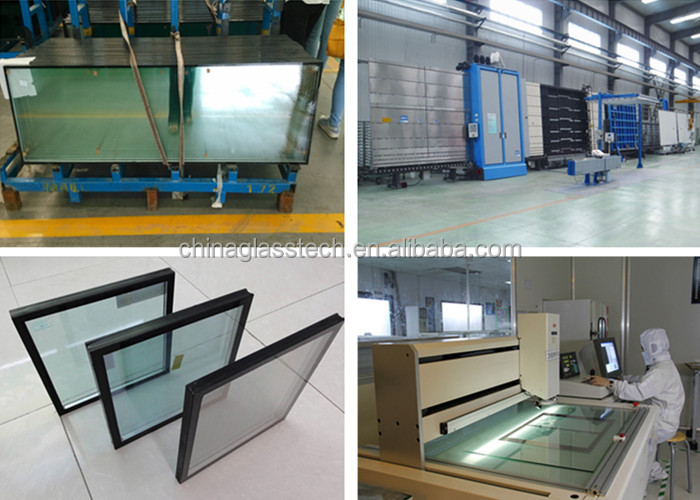 "AS2047 Colorful Tinted 1"" Tempered Insulated Glass Price"