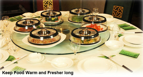 Black classic style Built-in Vacuum pump vacuum sealed dinner plate covers container seal & Black Classic Style Built-in Vacuum Pump Vacuum Sealed Dinner Plate ...