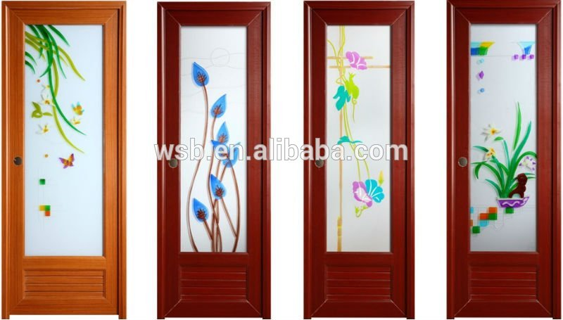 Bathroom door designs photos for Bathroom glass door designs