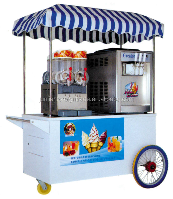 ice cream cart combination mobile ice cream truck ice. Black Bedroom Furniture Sets. Home Design Ideas