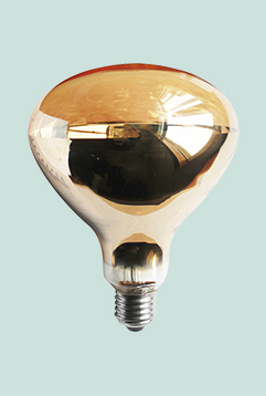Clear Infrared Heat Lamp For Food Bathroom Ceiling Heat Lamp R40