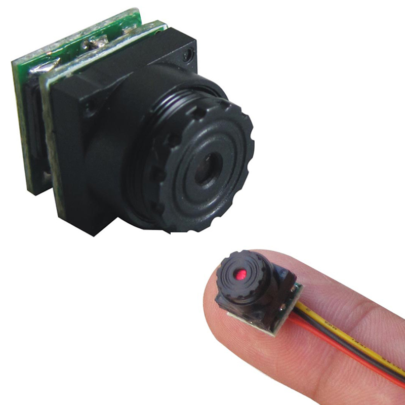 Very Very Small Hidden Secret Video Camera(1g weight mini size 9.5X9.5X12mm 520TVL 0.008lux night vision)