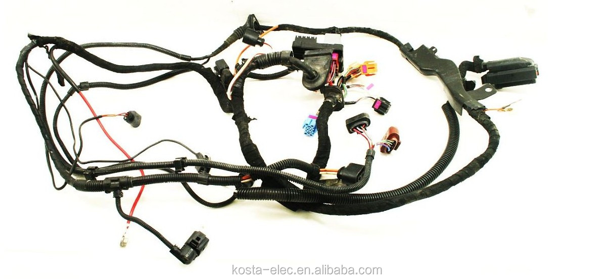 HT1HlhsFUVaXXagOFbXX engine bay ecu wiring harness 2 0 azg 2001 vw jetta mk4 genuine vw jetta wiring harness recall at fashall.co