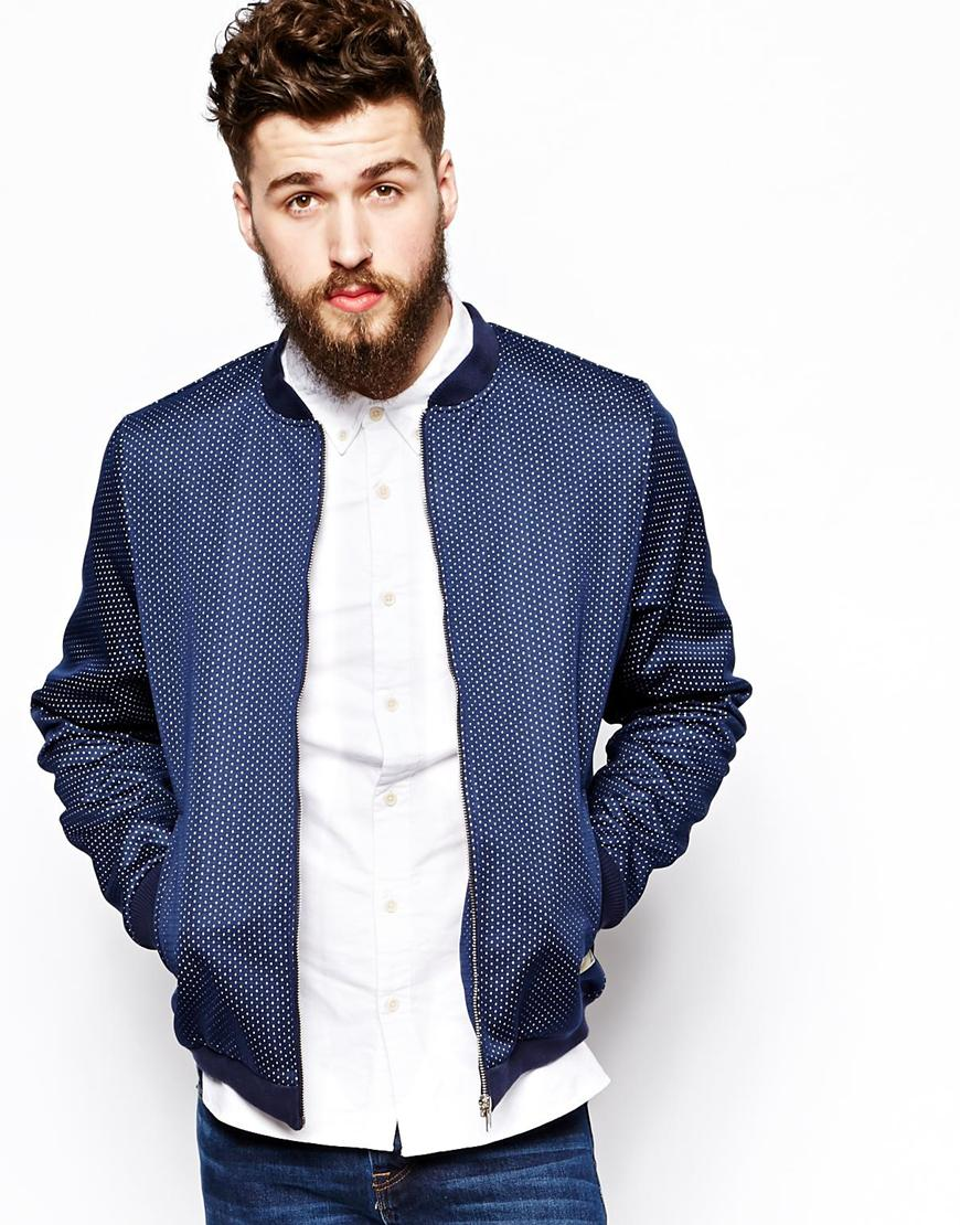 Overshirt All Over Orb Print Worker/men Lapel Jacket/clothing ...