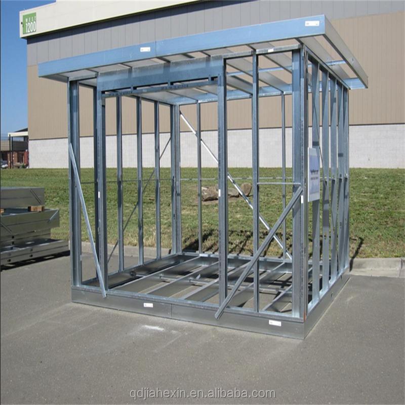 Qingdao High Quality Low Cost Prefab Galvanized Light Steel Frame ...