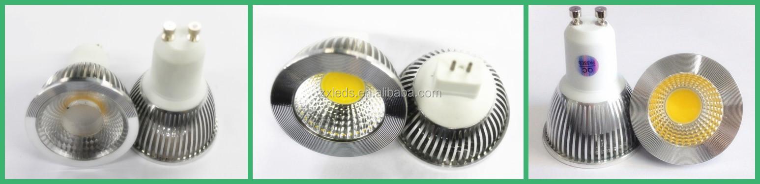 5w Dimmable Gu10 Led Spot Light Bulb Led Gu10 63mm