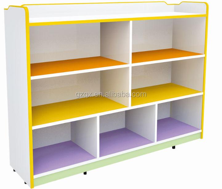 Ce Standards Wooden Toy Storage Cabinet