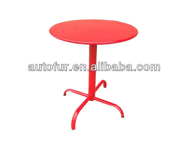 Dia 60 or 70cm coffee shop industrial vintage round metal tables