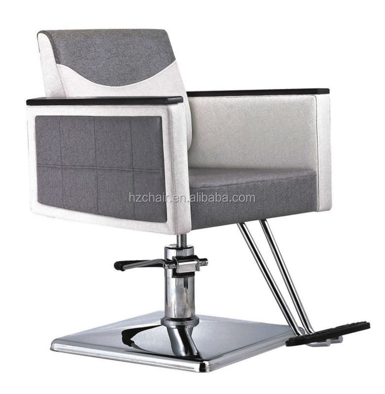2015 wholsale barber chairs for hairdressing grey color for Colored salon chairs