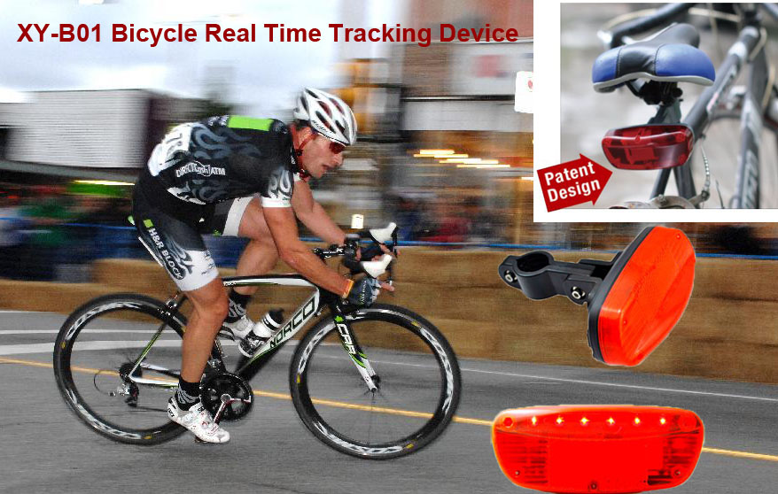 Electric Bike Gps Tracker Move Alert Bicycle Anti Theft Device Xy B