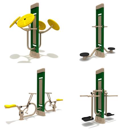 outdoor training and fitness equipment standing rotator
