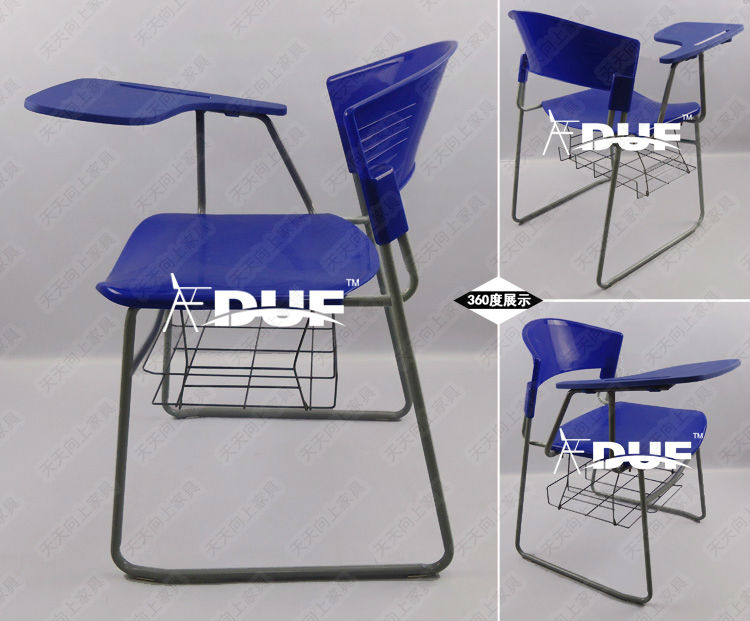Classroom Flip Chair With Writing Tablet Basket Tablet Arm Chair ...