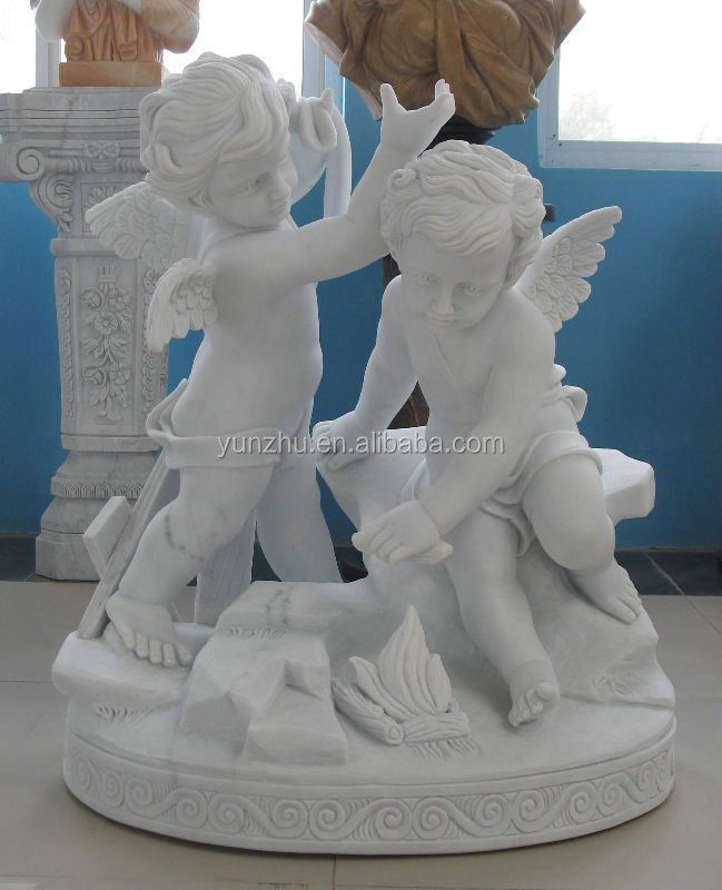 Garden Cherub Statue,Garden Cupid Statue,Garden Decor Angels ...