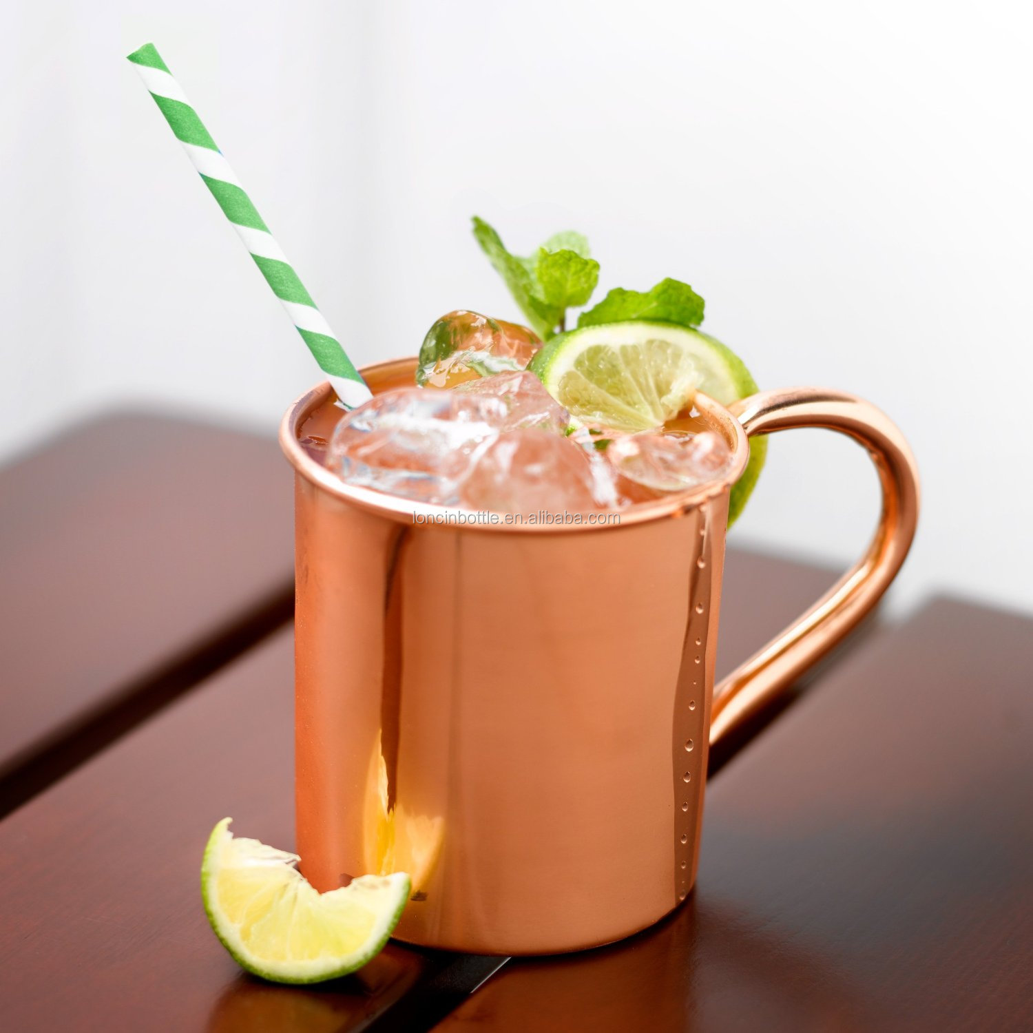 16oz solid copper mugs 450ml moscow mule cups 100 copper moscow mule mug - Moscow Mule Copper Mug