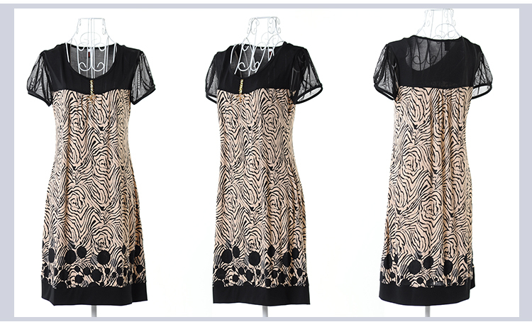 3856cea5606 New Fashion Women Summer Style Dress 2014 Slim Tunic Print Floral ...