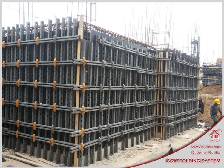 Q235 Metal Concrete Shear Wall Formwork Wall Formwork